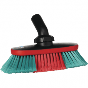 Vikan 526852 Vehicle Brush waterfed 250 mm Soft/split Black